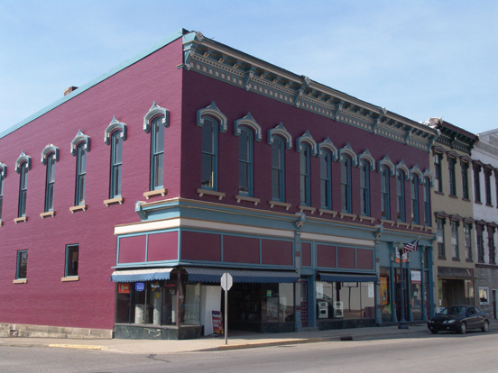 Attica Facade Renovation & Downtown Revitalization