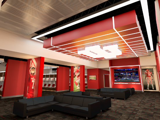 IU Football Locker Room