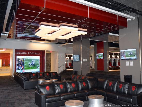 IU Football Locker Room